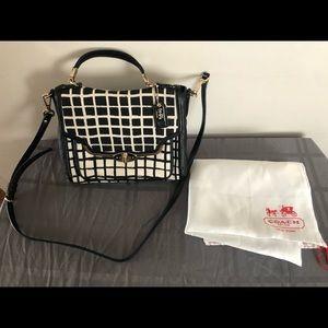 Coach Turnlock 29084 Canvas Crossbody Bag
